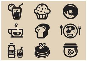 Icono de vector de desayuno