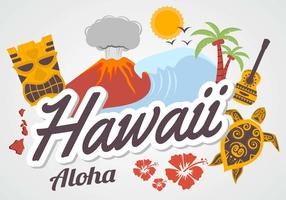 Vector libre de Hawaii