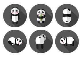 Panda vectoriel