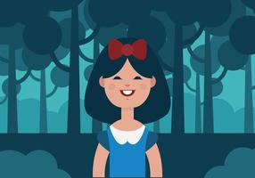 Vector Snow White Princess