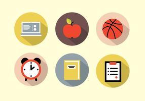 Iconos de la escuela gratis
