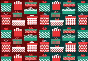 Gift Pattern Vector
