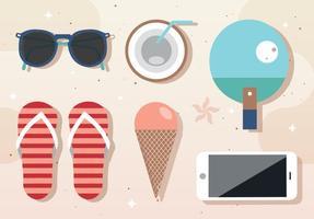 Free Vector Summer Componentes