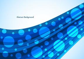 Free Vector Bright Blue Wave Background