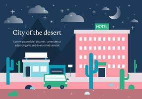 Free Vector City of the Desert