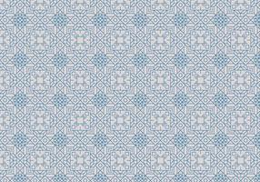 Decorative Outline Motif Pattern