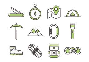 Iconos gratis de Linea Mountaineer