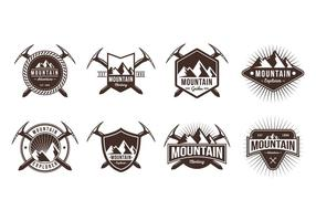 Free Mountain Badge Vectors