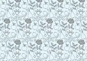 Outline Fruits Pattern