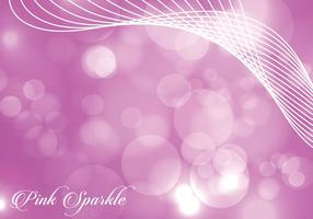 Vivid Pink Sparkle Background vector