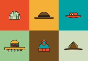 Free-hats-vector-pack