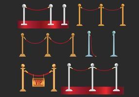 Velvet Rope Vector