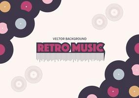 Retro Music Background