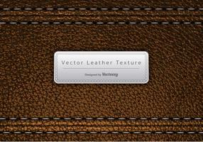 Vector Brown Leder Textur
