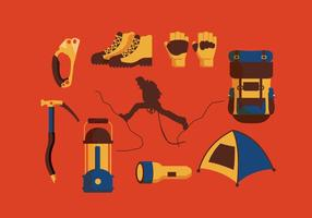 Mountaineer Equipment Vector