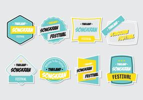 Songkran Stickers