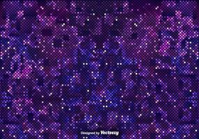 Pixelated Purple Background Of The Outer Space