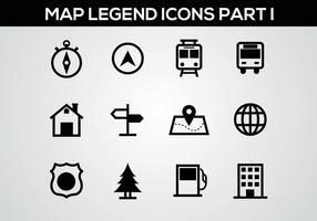 Mappa della leggenda Parte I Vector