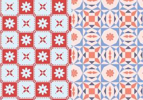 Mosaic Geometric Pattern vector