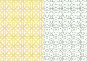 Skisserat geometriskt mönster