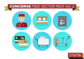 Concierge paquete de vectores gratis vol. 2