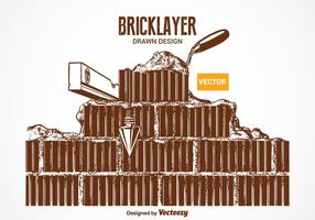 Free Vector Bricklayer Design