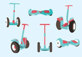 Divers Segway Vector