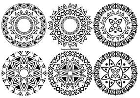 Decorative Cicle Vector Shapes