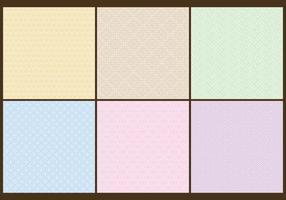 Motifs de couleurs en pastel