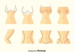 Plastic Surgery Vector Set