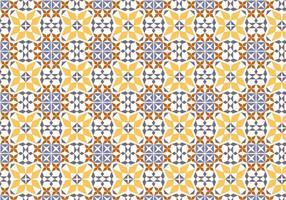 Padrão de vetor de azulejos portugueses