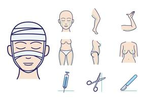 Plastic Surgery Vector