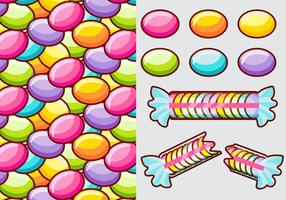 Smarties Candy Vector Elementen
