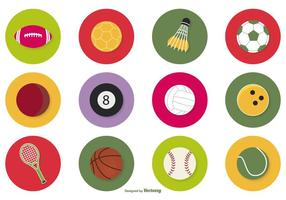 Sport Ball Icon Set