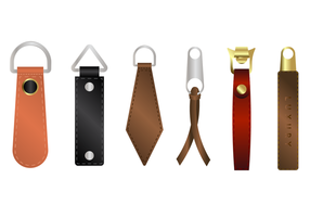 Free Leather Zipper Pull Vector