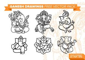 Ganesh fri vektor pack