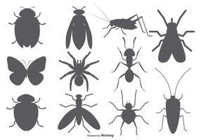 Insekten-Vektor-Formen