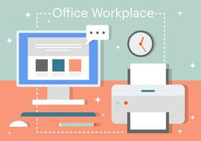 Gratis Flat Business Office Vector Elementen