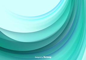 Color Abstract Wave Vector Background