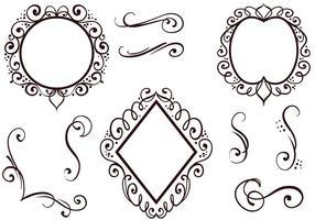 Kostenlose Ornamente Vektoren