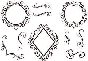 Free Ornaments Vectors