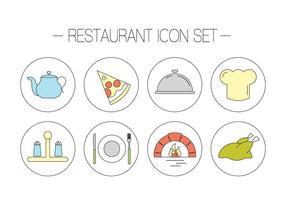 Kostenlose Restaurant-Vektoren