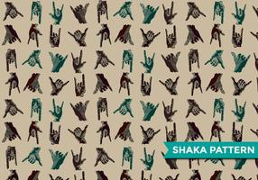 Shaka Modern Pattern Vektor