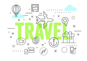 Travel Vector Elements