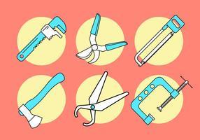 Vektor verktyg set