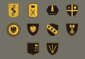 Conjunto de ícones Blason