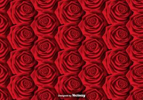 Vector Roses Background - SEAMLESS PATTERN