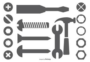 vector wrench icons