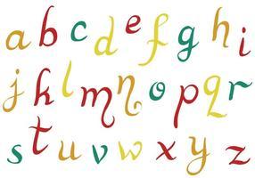 Libre Alfabeto Vectores