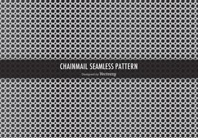 Free Chainmail Vektor Nahtlose Muster